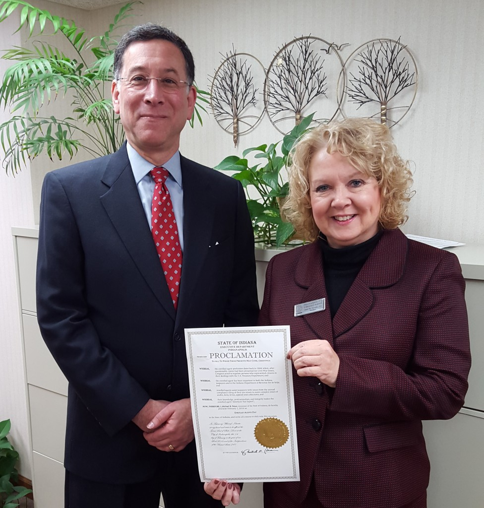 February 1, 2016 is Enrolled Agent Day | Indiana Society ...